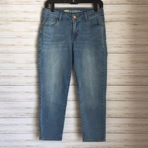 Old Navy Rock Star mid-rise cropped jeans